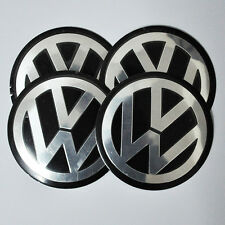 "4 VW Jetta Golf Mk4 Bettle Volkswage wheel center cap emblem sticker DECAL 2.56"""