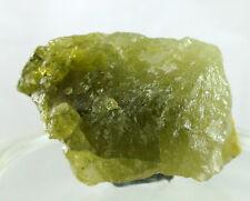Green Grossular Garnet from Mali rough gemstone 123 ct