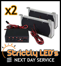 12v AMBER LED STROBES STROBE LIGHTS RECOVERY BREAKDOWN FLASHING CAR TRUCK UK