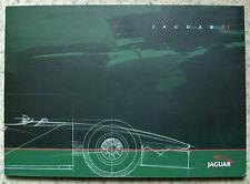 JAGUAR R1 FORMULA 1 CAR LAUNCH Press Media Pack Kit Photos 1999 - 2000