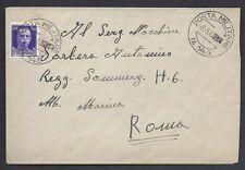 POSTA MILITARE 1943 Lettera da PM 145 a Roma (MC)