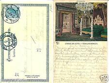 ts 170 1901 TRIESTE Castello di Miramare - Stanza da letto - viaggiata