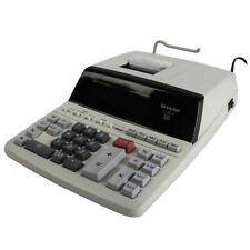 Sharp 2 Colour Printing Calculator 12-digit Fluorescent Display EL2607PGY