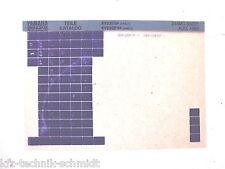 Microfich Yamaha XV535´94  4MC1 & XV525S´94 4MC2 Teile Katalog / Ersatzteilliste