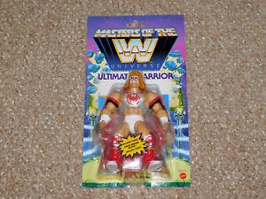 2021 Mattel Masters of the WWE Universe Wave 6 Ultimate Warrior MOC New MOTU
