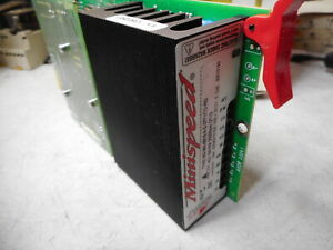 AXOR MINISPEED DC SERVO-DRIVE -- TACHO FEEDBACK -- 60VDC Supply -- MS-060-08/18