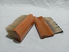 Set of 2 Ralph Lauren Chinex Bristle Stippler Brush & Wide Brush Bright Canvas