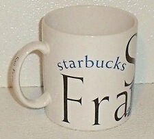 Starbucks Coffee Mug Cup Vtg 1994 SAN FRANCISCO Large 18 Oz Jan Belson
