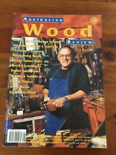 AUSTRALIAN WOOD REVIEW  Issue No. 28 TIMBER, WOODWORKING VGC