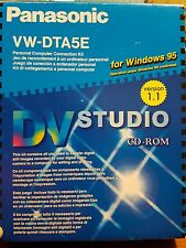 Panasonic DV Studio For Windows 95 Computer Connection Kit PC CD ROM - FAST POST