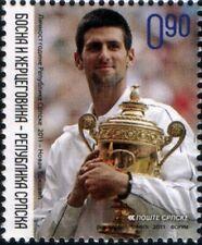Bosnia 2011 ☀ Novak Djokovic, Tennis World Nr.1 ☀ MNH**