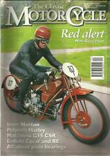 THE CLASSIC MOTORCYCLE APR 1994 RED ALERT MOTO GUZZI RACER NORTON POLAND HARLEY