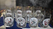 13 Vintage Norman Rockwell The Saturday Evening Post Drinking Glasses 12 oz