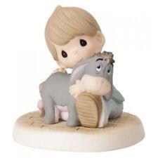 $ New PRECIOUS MOMENTS DISNEY Figurine EEYORE BOY Donkey Pooh Porcelain Statue