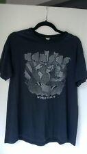 Vintage Authentic 1978 Kansas Concert T Shirt World Tour Black