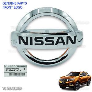 Genuine Front Emblem Logo Decal Bumber Fits Nissan Navara Np300 D23 2015 2016 17