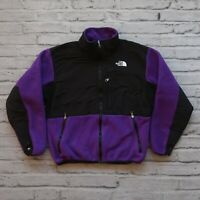 Vintage North Face Denali Polar Fleece Jacket Womens Size M Purple