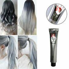 100ML Fashion Light Gray Color Natural Permanent Super Hair Dye Cream Cosmetic