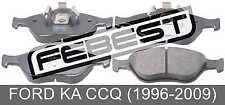Pad Kit, Disc Brake, Front For Ford Ka Ccq (1996-2009)