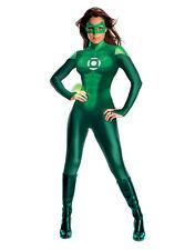 """Linterna Verde Disfraz Para Mujer, medio (EE. UU. 6 - 10), cintura busto de 36 - 38"""", 27 - 30"""""""