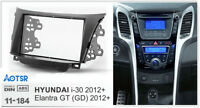 Car Radio Fascia for HYUNDAI i30 2012+ Elantra GT 2012+ Installation Fitting Kit