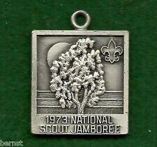 VINTAGE BOY SCOUT 1973 NATIONAL JAMBOREE KEY CHAIN EMBLEM