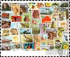 More details for burkina faso : 100 different stamps collection
