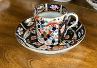 Bloor Derby Royal Crown Derby IMARI ANTIQUE 1800's Can Cup Witches Pattern B