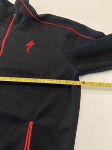Specialized Bicycles Cycling Jacket Men's Large Black/Red