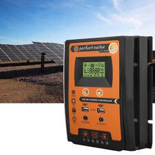 50A PWM Regolatore di carica pannello solare Doppia USB Display LCD