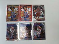 2019-2021 NBA Hoops/Prizm 2 SLAM Allen Iverson 6 Card Lot Philadelphia 76ers
