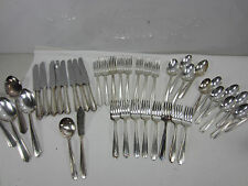 42 Pc. Luxor Plate by Wallace Silverplated Silverware Set- 1931 Serenade
