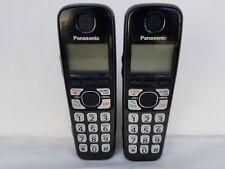 2 Panasonic KX-TGA470B Cordless Handset for KX-TG4741B, KX-TG4742B, KX-TG4743B