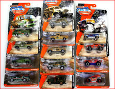 Lot 3 Cars - MatchBox Color Shifters - Diecast Color Changing Cars Trucks Jeep