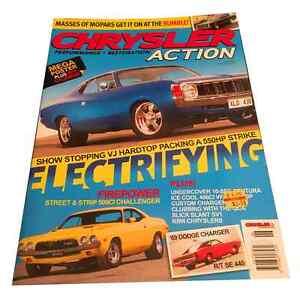 Chrysler Action Magazine Issue 10 - MOPAR, CHARGER, HEMI, VALIANT
