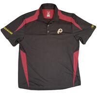 Reebok Washington Redskins Polo Shirt Football Team Men's Large