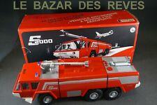 CEF. S 2000 SIDES Pompiers aéroport.  + Boite. Echelle 1/43. Promotionnel sicli.