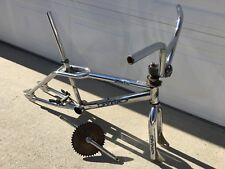 DYNO GT ZONE Mid-School CHROME FREESTYLE FLATLAND BMX BIKE, Frame Set w/Parts