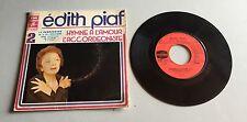 Ref 157 Vinyle 45 Tours Edith Piaf Hymne À L'amour L'accordéoniste