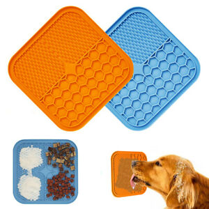 Pet Lick Pads Slower Feeder Pad Dog Bathing Distraction Pads Silicone Dispenser
