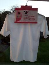 3 Ladies Short Sleeved Thermal Vests Size M