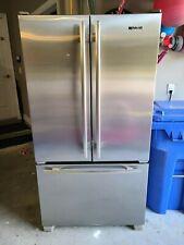 "Jenn-Air 36"" Stainless Cabinet Depth French Door Refrigerator"