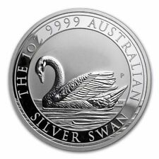 2017 Australia 1 oz Perth .999 Silver Swan (25,000 mintage, from mint roll)