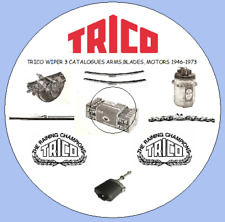 Three Vintage Trico Wiper Blades & Equipment Catalogues 1959, 1960 & 1973