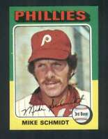 1975 Topps #70 Mike Schmidt NM/NM+ Phillies 114647