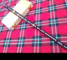 Irish D Flute African Black Wood + Wooden Hard Case/D Flute African Black Wood