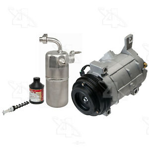 A/C Compressor - New- With Kit   Factory Air   3921NK