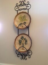 Southern Living at Home Harrison 2 Plate Rack Holder