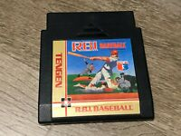 R.B.I. Baseball RBI Nintendo Nes Cleaned & Tested Authentic