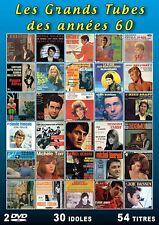 Les Grands Tubes des années 60 / 30 idoles : Christophe, Sylvie Vartan...(2 DVD)